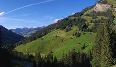 Free Swiss Mountain Landscape Stock Photos - 6576463