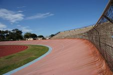 Oval Sports Grounds Royalty Free Stock Photos