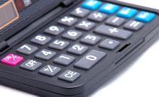 Keyboard Of The Calculator Stock Image