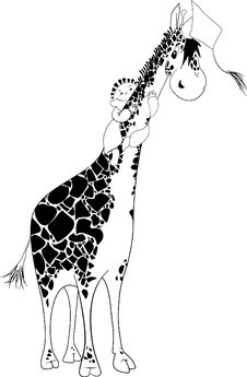 Free Aboard A Giraffe Royalty Free Stock Photography - 6577327