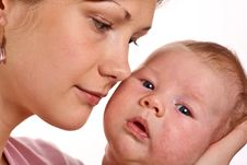 Free Happy Mother With Baby Stock Photo - 6578190