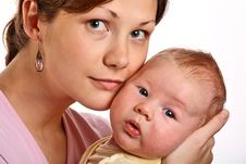 Free Happy Mother With Baby Stock Photos - 6578193