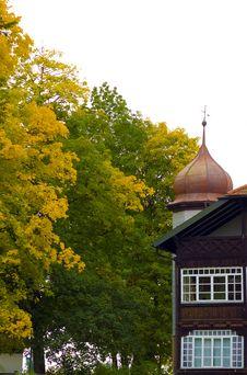 Autumn House Stock Photos