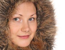 Free Beautiful Girl In Fur Hood Stock Images - 6578724