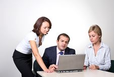 Free Three Colleagues Stock Photos - 6579003