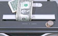 Free Money Shredder Royalty Free Stock Image - 6579486