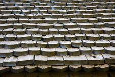 Old Nordic Roof Royalty Free Stock Photography