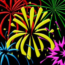 Free Fireworks Stock Images - 6579684