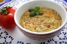 Free Noodles Soup Stock Photos - 6579953