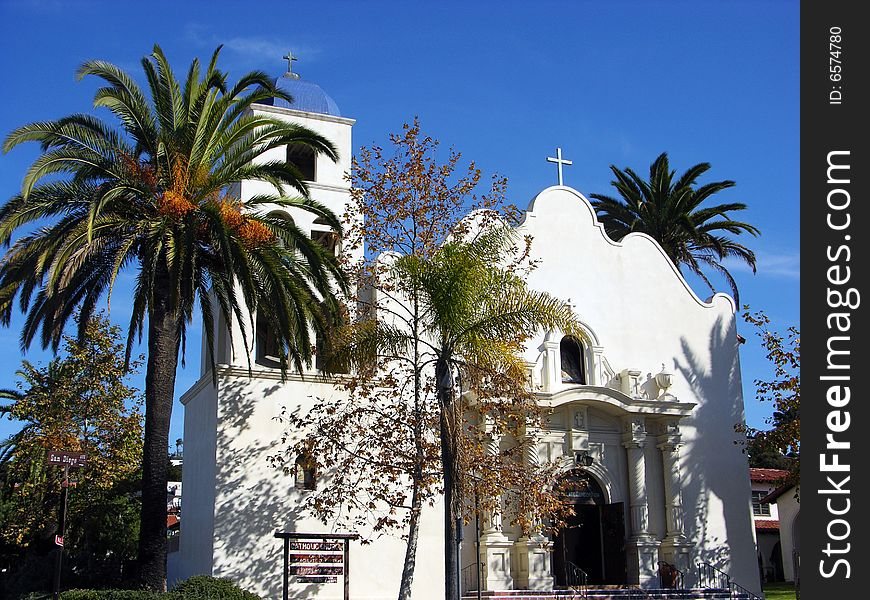 San Diego Historic Church