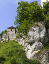 Free Castle Tower Surrounded By Towering Rocks Stock Image - 6585381