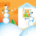 Free Winter Vector Iilustration Stock Image - 6585671