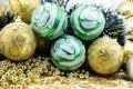 Free Multi-coloured Christmas-tree Decorations Stock Image - 6589941