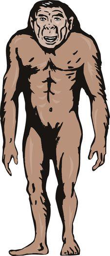 Free Caveman Royalty Free Stock Image - 6580086