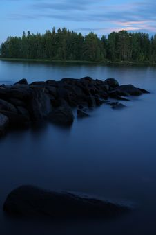 Free Lake In The Evening Stock Photos - 6580633