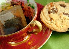 Free Tea And Cookie Stock Photography - 6580922
