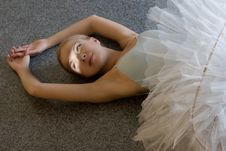 Free Relax Of Ballerina Royalty Free Stock Image - 6581576
