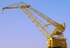 Free Old Crane Royalty Free Stock Images - 6581899