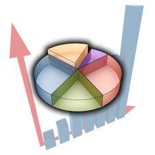 Free 3d Statistics Illustration Royalty Free Stock Image - 6582246