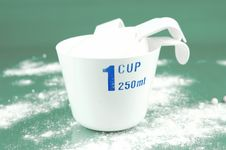 Free Measuring Cups Stock Image - 6582321