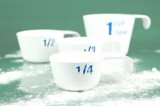 Free Measuring Cups Stock Photography - 6582322