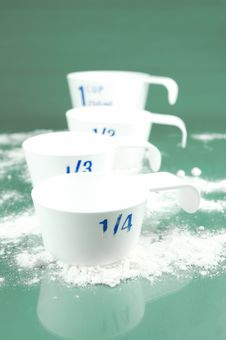 Free Measuring Cups Stock Images - 6582334