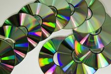 Free CD S Arranged Royalty Free Stock Photo - 6582395