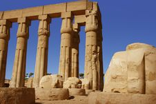 Free Luxor Temple In Egypt Royalty Free Stock Image - 6582586