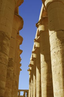 Free Luxor Temple In Egypt Stock Photography - 6582632