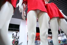 Free Legs Female Dummies In Store Stock Images - 6582784