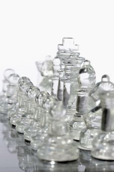 Free Glass Chess 5 Stock Photos - 6583123