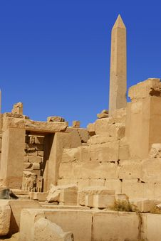 Free Karnak Temple In Egypt Stock Photo - 6583880