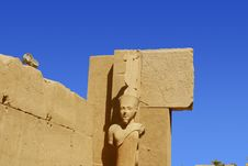 Free Karnak Temple In Egypt Royalty Free Stock Photography - 6583897