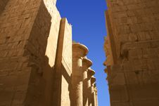 Free Karnak Temple In Egypt Stock Image - 6583911