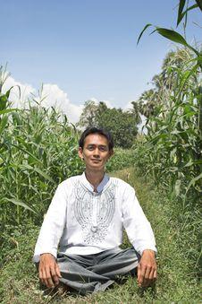 Free Man In Farming Royalty Free Stock Image - 6584046