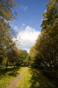 Free Autumn Park Stock Photos - 6584413