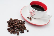 Free Cup Of Coffee Stock Images - 6584734
