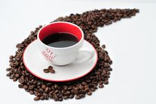 Coffee In The Morning Royalty Free Stock Photos