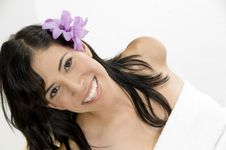 Free Close Up Of Young Smiling Woman Royalty Free Stock Photo - 6584985
