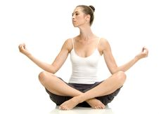 Free Woman In Lotus Pose Stock Photography - 6585262