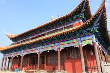 Shuang-gui Tang Temple Royalty Free Stock Photography