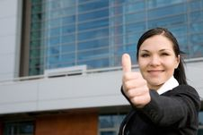Free Businesswoman Outdoor Royalty Free Stock Photography - 6586147