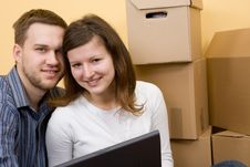 Free Moving In Stock Images - 6586414