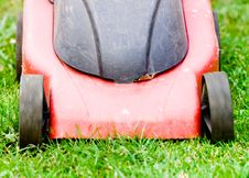 Free Lawnmower Stock Photography - 6587392