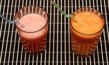 Free Carrots & Grapefruit Fresh Royalty Free Stock Photography - 6588027