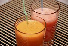 Free Carrots & Grapefruit Fresh Royalty Free Stock Images - 6588049