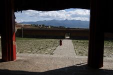 Free Talapoin In Tibet Stock Photos - 6588843
