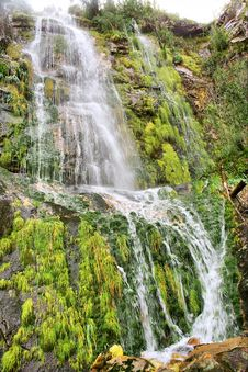 Free Waterfall In Mountains Stock Images - 6588864
