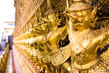 Free Golden Budda Royalty Free Stock Photography - 6589097