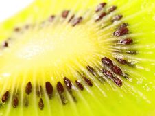 Slice Of Kiwi Royalty Free Stock Photos